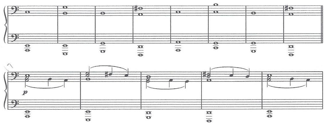 Score Examples Cont Beethovens Moonlight Sonata M Iii And